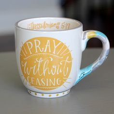 COFFEE MUG | Pray without Ceasing
