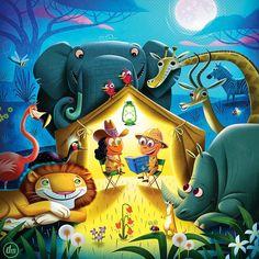 Fun project for kids publishing. #illustrator #illustration #kidsbooks #characterdesign #animalart #safari #childrenspublishing #sandiego #sandiegoartist #deanmacadam #africa #kidsbooks #instartist #instartist #artistsoninstagram @gordpronk @childrenillustration #childrenswritersguild