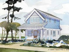 Cottage House Plan with 1429 Square Feet and 2 Bedrooms from Dream Home Source   House Plan Code DHSW68203