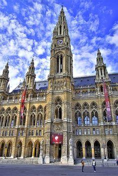 Rathaus - Vienna, Austria