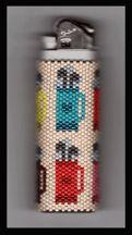 peyote bead pattern golf bag - Google Search