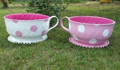 Teacup Tire Planter Instructions And Video Tutorial