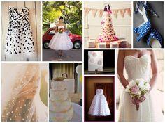 polka dot weddings - the bridesmaid and the bride blog