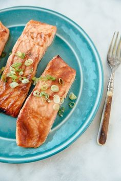 Recipe: Jacques Pépin's Broiled Salmon with Miso Glaze