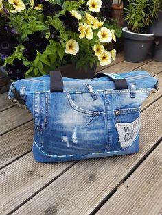 Sac Java en jeans recyclé de Gaëlle - Patron sac Sacôtin