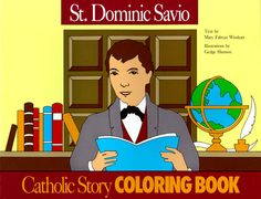 1000 images about st dominic savio for vbs on pinterest for Saint dominic savio coloring page