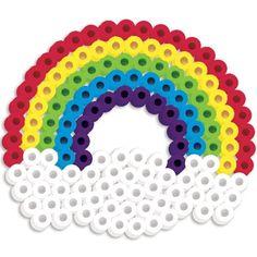 Perler Beads Silicone Pegboard Fused Bead Kit - Rainbow Perler