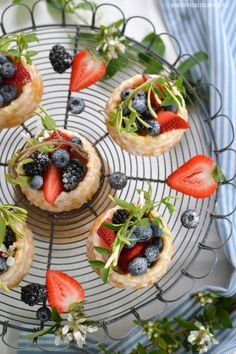 Berry Basket Shortcakes | homeiswheretheboatis.net #mothersday #dessert #nordicware