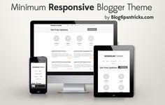 Minimum Theme Blogger Template