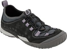 Cushe Wildrun Leather in Dark Grey Lilac from PlanetShoes.com
