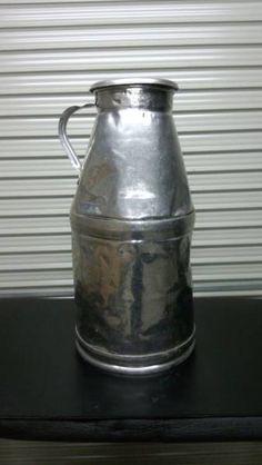 Milk Tank 牛乳缶ミルク缶傘立て園芸用品入れアンティーク売切り インテリア 雑貨 家具 Antique ¥2980yen 〆05月26日