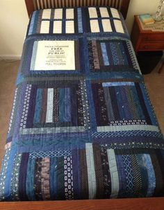 Doctor Who Bedspread