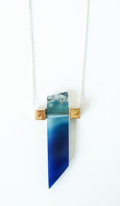 Aesa Geologic Time Agate Necklace