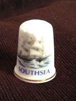 Thimble - Southsea - Bone china made in England (CODE 588)