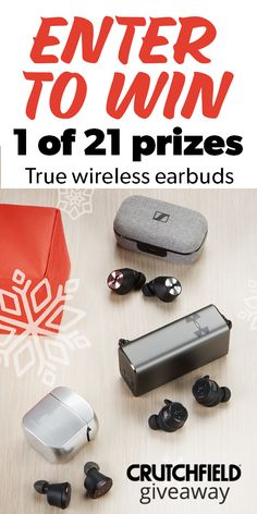 Enter to win 1 of 21 True Wireless headphones from Crutchfield Giveaways, Round Two, Jean Paul, Enter To Win, Wireless Earbuds, Road Trip, Projects To Try, Daffodil Tattoo, Gautier