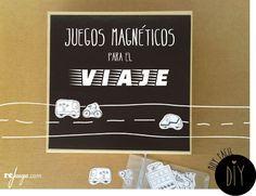 DIY Juegos magnéticos de viaje para niños