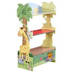 B Grade-fantasy Fields Sunny Safari Childrens Kids Wooden Bookcase Book Shelf for sale online Painted Bookshelves, Wooden Bookcase, Bookshelves Kids, Girls Bookshelf, Bedroom Bookshelf, Bookshelf Storage, Book Shelves, Childrens Bedroom Furniture, Playroom Furniture