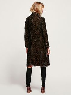 Free People Printed Velvet Duster at Free People Clothing Boutique