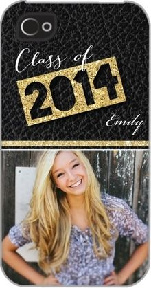 Everlasting Talent - Personalized #Iphone #Cases - Fine Moments - Black | Perfect for #Graduation at TinyPrints.com