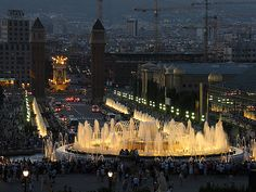 Fonte Mágica, Barcelona / Magic Fountain, Barcelona