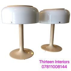 Table Lights by Anders Pherson 1960s Pair of Knubling Lamps for Ateljé Lyktan, Sweden Original 1960s - Re-wired.  For more info contact Emilia 07811008144 or emiliaporto@aol.com @alfiesantiques @timeoutlondon @elledecor #interiors #design #home #inspiration #furniture #midcentury #lighting #Marylebone #London #Chelsea #house #designer #bright #modern #vintage #antique #decor #designinterior #decoration #light #ideas #architecture #interior #interiordesign #sweden