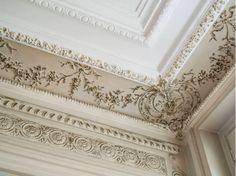Paris apartment molding