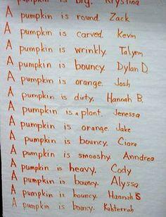 Pumpkin Literacy Activities and Lessons | Little Giraffes Teaching Ideas | A to Z Teacher Stuff