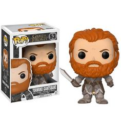 Game of Thrones Tormund Pop! Vinyl Figure from Funko. Perfect for any Company_Funko Product Type_Pop! Vinyl Figures Theme_Game of Thrones fan! Figurines D'action, Pop Figurine, Funko Game Of Thrones, Pop Game Of Thrones, Pop Vinyl Figures, Doctor Who, Suicide Squad, Funko Pop Dolls, Funko Toys