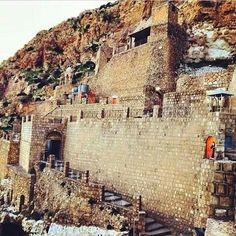 Restos del monasterio de Alqosh, Iraq