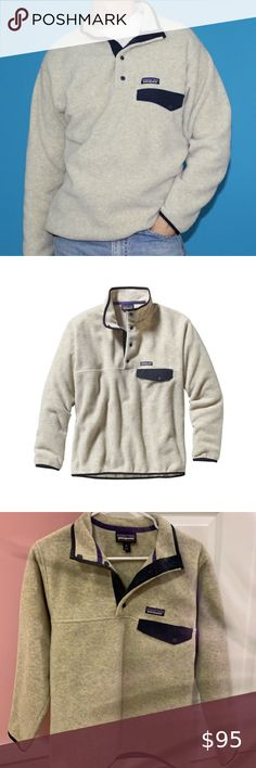 Patagonia Synchilla Snap Fleece Pullover XS Patagonia pullover fleece sweater, size xsmall, lightly worn great condition Patagonia Tops Sweatshirts & Hoodies Patagonia Fleece Pullover, Patagonia Synchilla, Fleece Sweater, Hoodies, Sweatshirts, Womens Fashion, Sweaters, Jackets, Closet