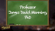 You Might Want To Call Me Professor Manning