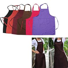 Multicolor Commercial Restaurant Kitchen Bib Aprons *** Read more  at the image link. (Note:Amazon affiliate link) #CoolGadgets