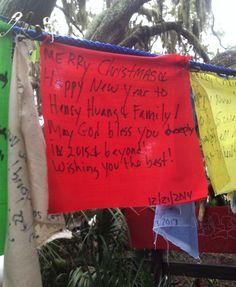prayer flag project, december 24, 2014