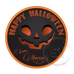 This listing is for a Printable PDF file of Happy Halloween Tags as shown on photo If you need a different size please contact us Print as many as you need Halloween 2, Personalized Tags, Diy Stickers, Holidays And Events, Party Favors, Printables, Digital, Personalized Labels, Print Templates