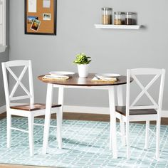 Andover Mills Wiley 3 Piece Dining Set