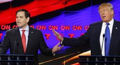 Rubio keeps swinging at Trump after Republican debate