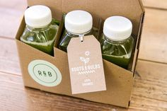 Roots & Bulbes, cold press juices - london
