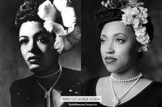 Natural Hair Vlogger Taren Guy as Billie Holiday