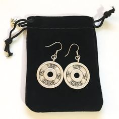 Heavy Weight Lifting, Lift Heavy, Gifts For Gym Lovers, Meaningful Jewelry, Stainless Steel Earrings, Fitness Gifts, Coach Gifts, Dainty Necklace, Earring Backs