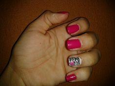 animal print cute nails