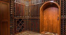 Wine Cellar Design - Building a Custom Wine Cellar Wine Cellar Racks, Wine Rack, Home Wine Cellars, Wine Cellar Design, Basement Inspiration, Wine Storage, Home Photo, Design Consultant, Building
