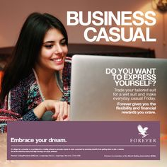 The freedom to work wherever, however and whenever you like with Forever Living. http://link.flp.social/3vMc7b