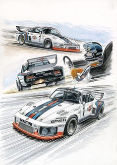 The Gentleman Racer was started over a decade ago by Michael as a place to share photos and stories from his automotive and motorcycle adventures. It has grown into an online magazine covering cars art fashion and culture. Auto Illustration, Le Mans 24, Ferdinand Porsche, Porsche Classic, Cabriolet, Porsche Carrera, Car Posters, Porsche Cars, Car Drawings