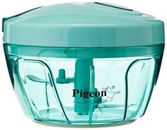 Buy #7: Pigeon New Handy Chopper with 3 Blades Green