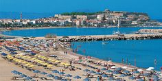 Rethymnon Beach Rethymnon Crete Greece near the Harbour Rethymnon Crete, Planet Earth 2, Crete Greece, Throughout The World, Greece Travel, Greek Islands, San Francisco Skyline, City Photo, Dolores Park