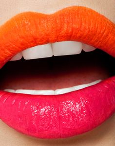 Orange and Pink Lips #EssentialBeauty BeautyBay.com