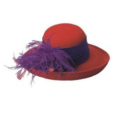 red hat society love this hat style