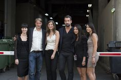 Behind the scene of Move On - Mads, Alexandra Maria Lara and some participants - www.move-on-film.com