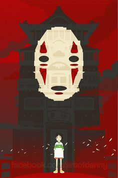 Studio Ghibli Art Prints - Created by Danny Haas You can purchase these prints at Danny'sSociety6orEtsy Shop.