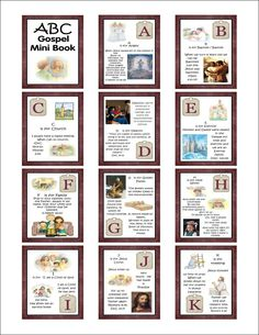Downloads - ABC Quiet Books 4 x 6 for younger children. Link is now at http://www.theideadoorfiles.com/index.php/quite-book-s-4-x-6-photo-book-s/178-quite-book-s/abc-printable-quite-books/307-gospel-abc-s-quiet-book